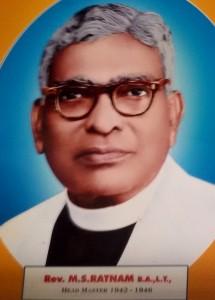 Rev. M. S. Rathnam