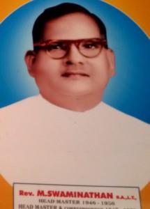 Rev. M. Swaminathan