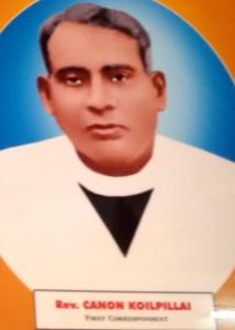 Rev. Canon Koilpillai